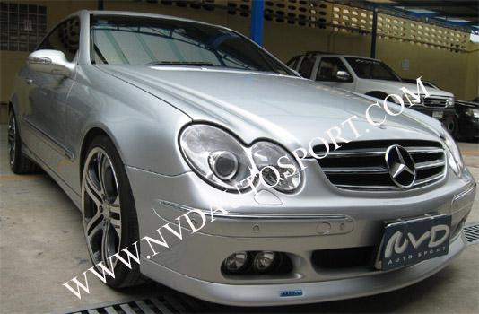 Mercedes clk brabus body kit for Mercedes benz clk body kit