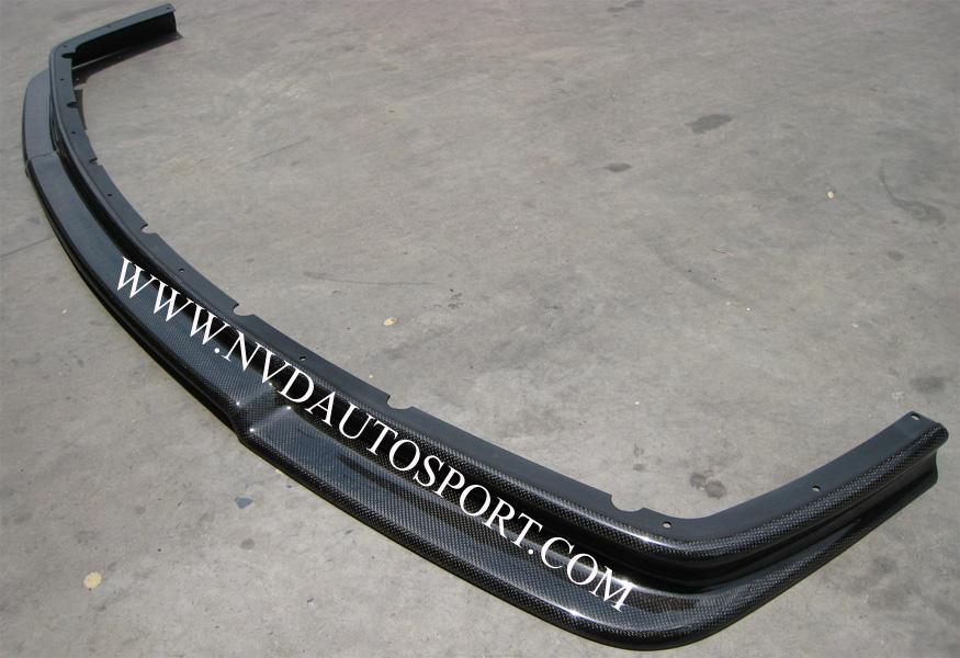 Bmw s3 e36 e36 m3 carbon fibre carbon fiber rieger front splitter