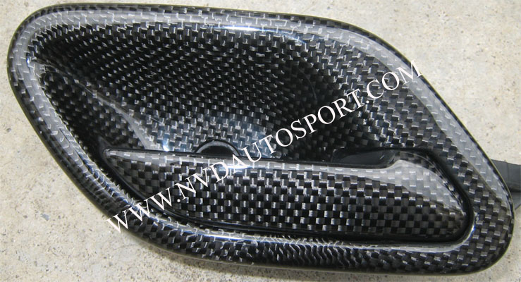 bmw e39 carbon fiber interior door pull