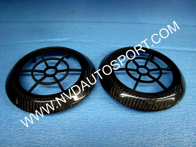 Bmw E63 E64 M6 Carbon Fiber Loud Speaker Ring
