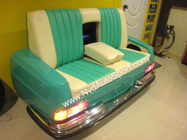 Home Furniturea Home Decoration And Personal Life Style With The Car Concept